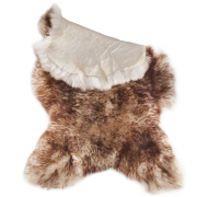 Genuine sheepskin Brown