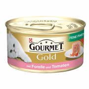 Purina Gourmet Gold - Fine Pâté with Trout & Tomato 85 g