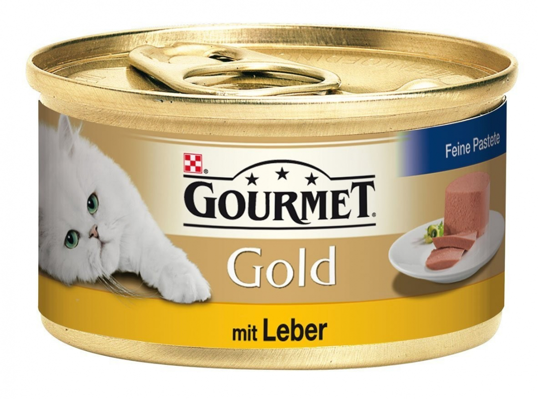 Purina Gourmet Gold Mousse met Lever 85 g