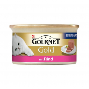 Purina Gourmet Gold - Fine Pâté with Beef 85 g