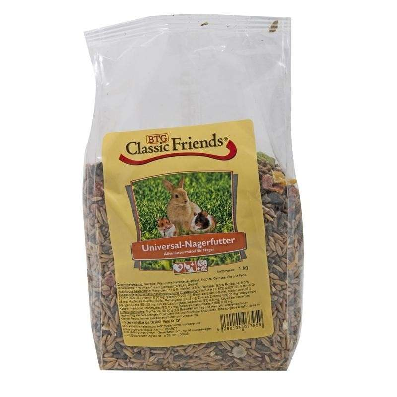 Classic Friends Universal Rodent Food 2.5 kg 4260104073966
