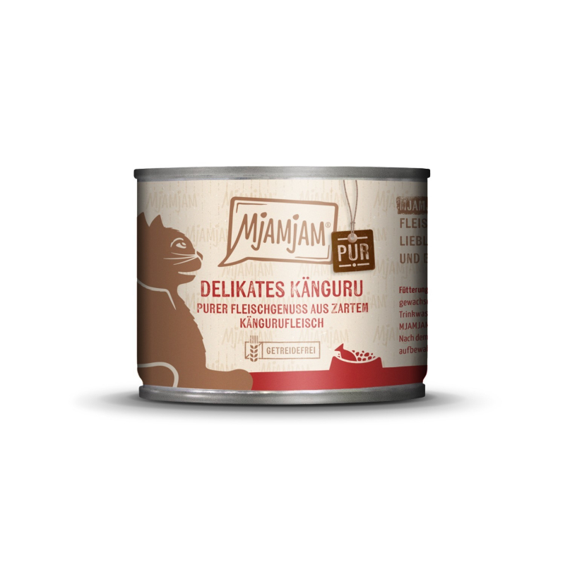 MjAMjAM Pure Meat Delight - Delicacy Kangaroo Pure 200 g