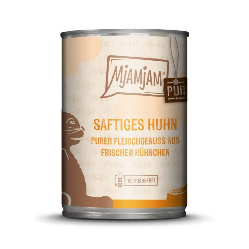 MjAMjAM Pure Meaty Delight - Juicy Chicken pure 400 g