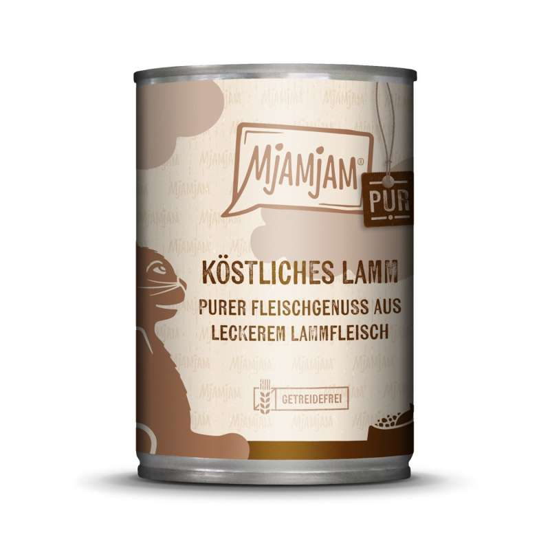 MjAMjAM Pure Meaty Delight - Tasty Lamb pure 400 g