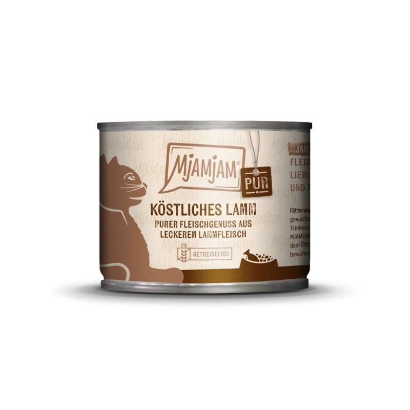 MjAMjAM Pure Meaty Delight - Tasty Lamb pure 200 g