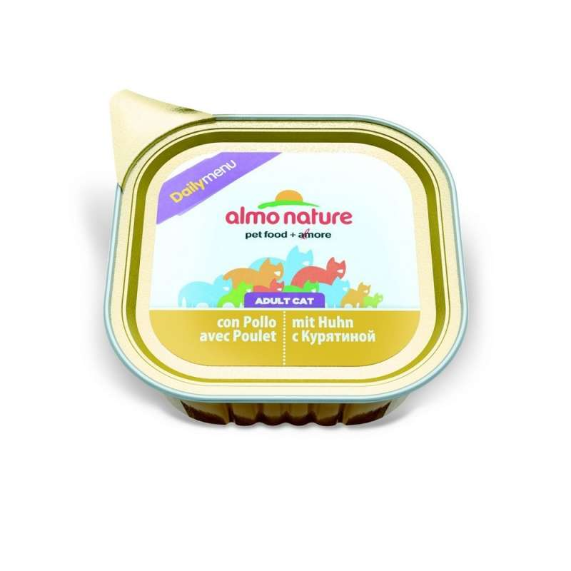 Almo Nature DailyMenu Adult Cat Kip 100 g 8001154124965