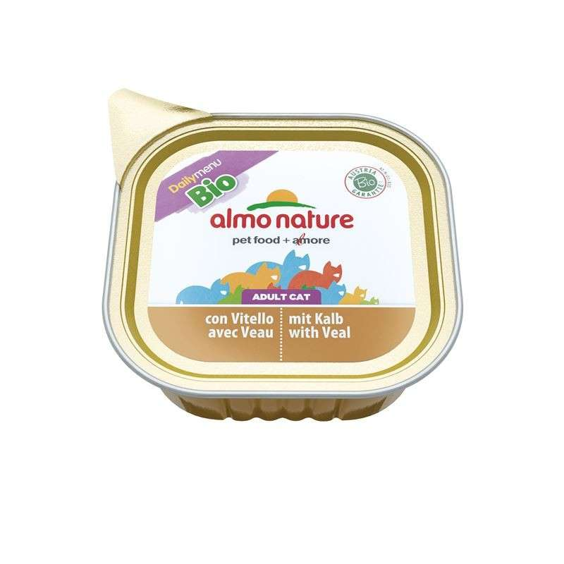 Almo Nature DailyMenu Bio with Veal EAN: 8001154004106 reviews