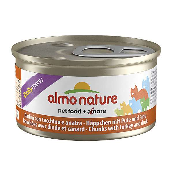 Almo Nature DailyMenu Chunks with Turkey & Duck 85 g buy online
