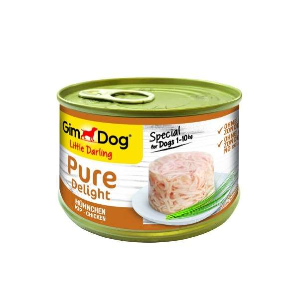 GimDog Little Darling Pure Delight Chicken 85 g, 150 g osta edullisesti