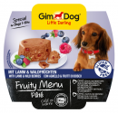 GimDog Fruity Menu Pâté with Lamb and wild Berries 100 g