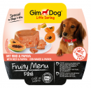 GimDog Fruity Menu Paté con Vacuno y Papaya 100 g