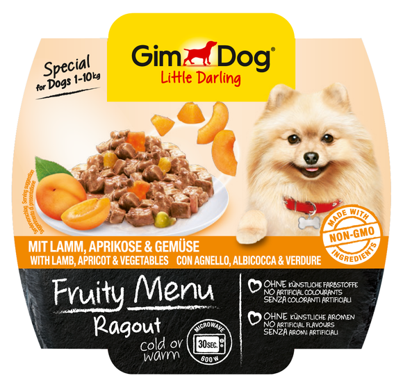 GimDog Fruity Menu Ragout with Lamb, Apricot and Vegetable EAN: 4002064512259 reviews