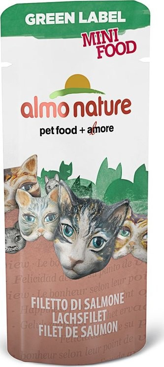 Almo Nature Green Label Mini Food with Salmon Fillet 3 g order cheap