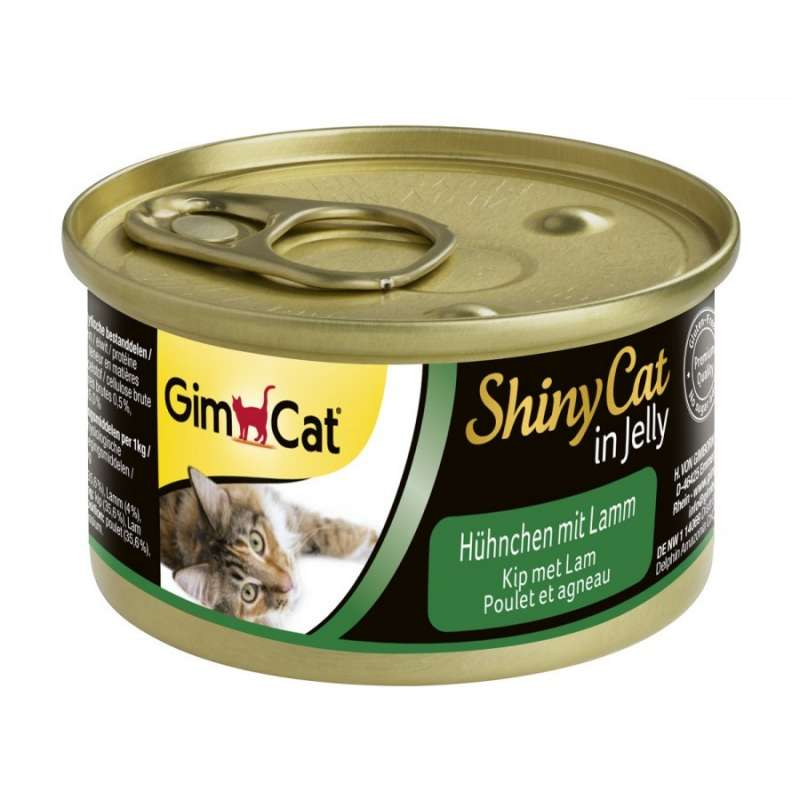 GimCat ShinyCat in Jelly Chicken and Lamb 70 g test
