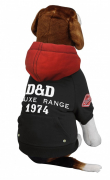 D&D Dog Fashion Deluxe Schwarz