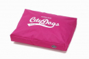 Europet-Bernina D&D Cushion Super Raw Paw, rosa 80x60x12 cm