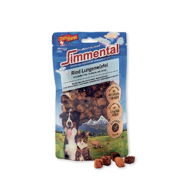 "Simmental Beef lung cubes ""Mini"" from DeliBest 60 g, 120 g buy online"