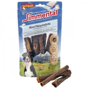 Simmental Beef meat sticks round 15 cm from DeliBest 150 g