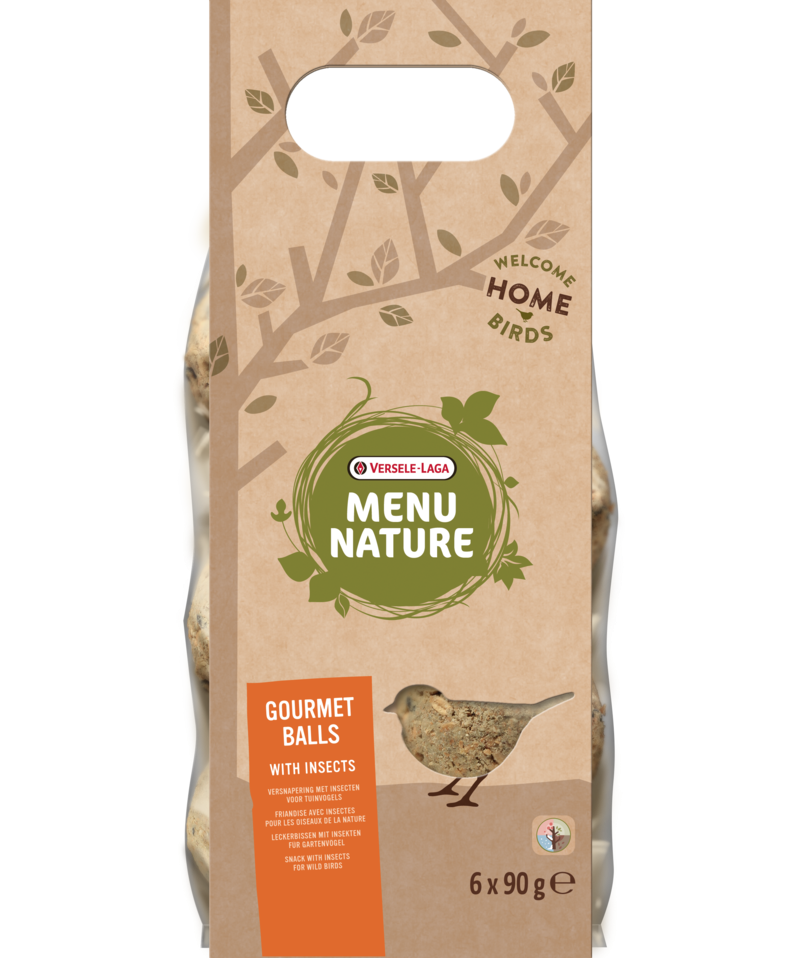 Versele Laga Menu Nature Gourmet Balls with Insects 540 g  kjøp billig med rabatt