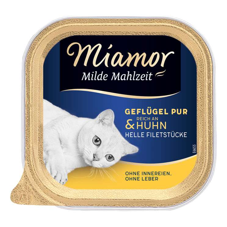 Miamor Milde Mahlzeit Poultry Pure & Chicken 100 g test