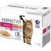 Perfect Fit Adult 1+ Lot Mixte 12x85 g