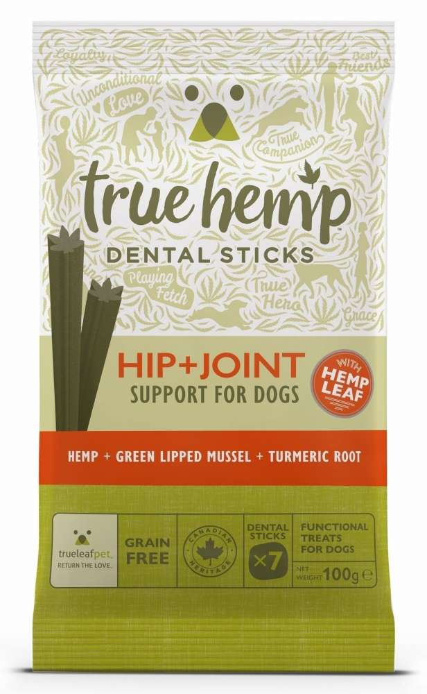 Dental Sticks Hip & Joint from True Hemp 100 g buy online