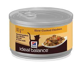 Hill's Ideal Balance Feline Adult Chicken 12x82 g 52742319803 erfaringer