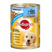 Pedigree Junior Lamm & Ris 400 g