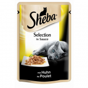 Sheba Selection in Sauce - Kana kastikkeessa 85 g