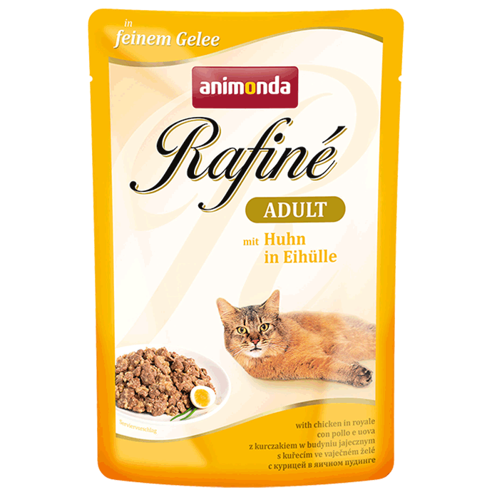 Animonda Rafiné with Jelly Adult, Chicken in Royale 100 g 4017721837965 ervaringen
