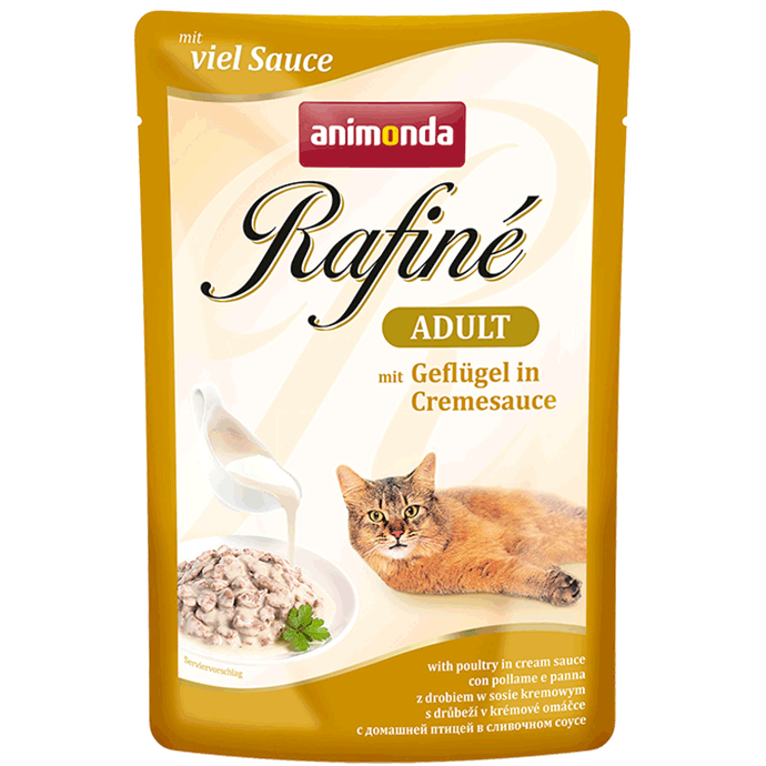 Animonda Rafiné with Sauce Adult with Poultry in Cream Sauce 100 g