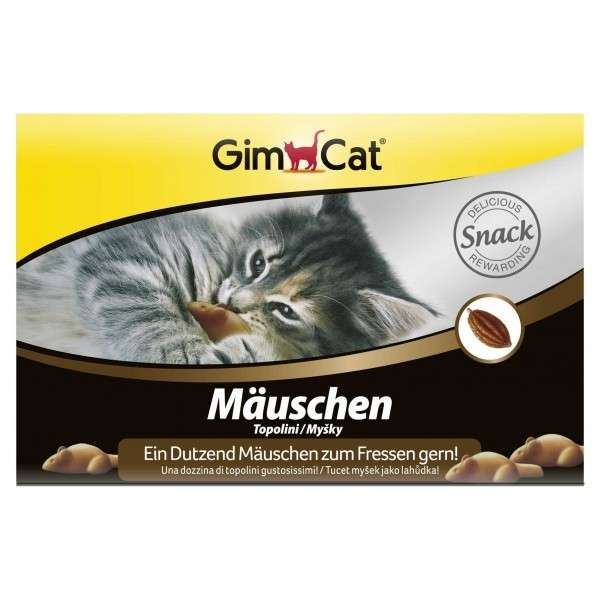 GimCat Little Mice 12 pcs.  test