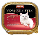 Animonda Vom Feinsten Adult For neutered cats Turkey + Tomatoes 100 g