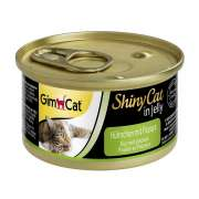GimCat ShinyCat in Jelly Chicken with Papaya 70 g
