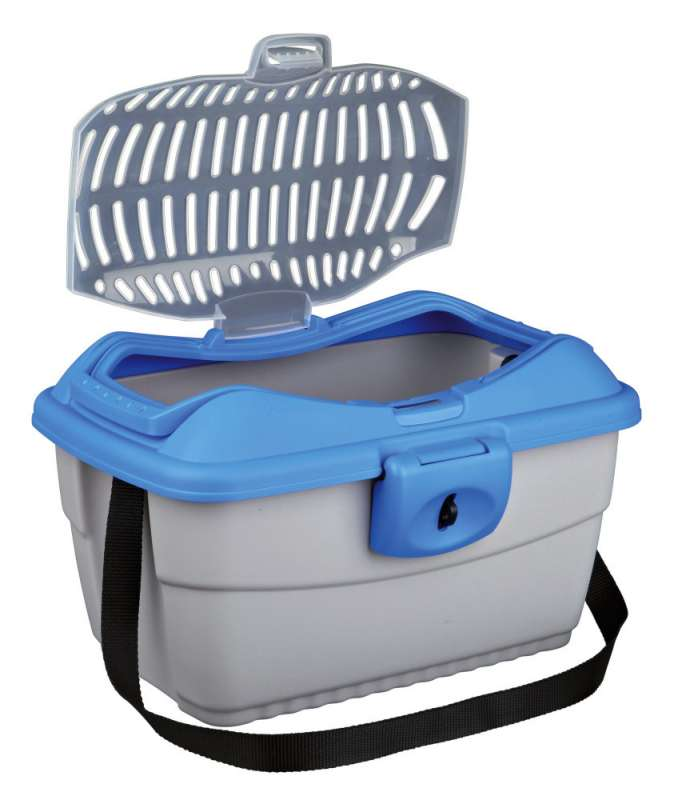 Trixie Transport Box Midi-Capri  Lysegrå 40×22×30 cm