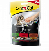GimCat Nutri Pockets Malt-Vitamin Mix 150 g