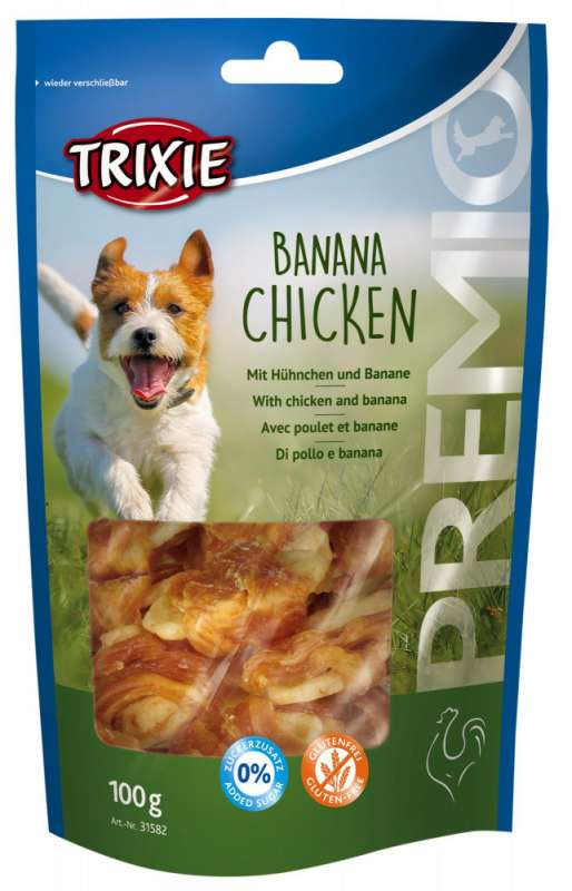 Trixie Premio Banana Chicken 100 g 4011905317052