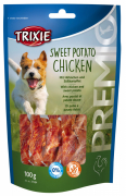 Trixie Premio Sweet Potato Chicken 100 g - Jerky & dried poultry for dogs online