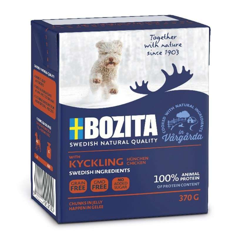 Bozita Tender Chicken Chunks in Jelly 7300330042651 erfarenheter