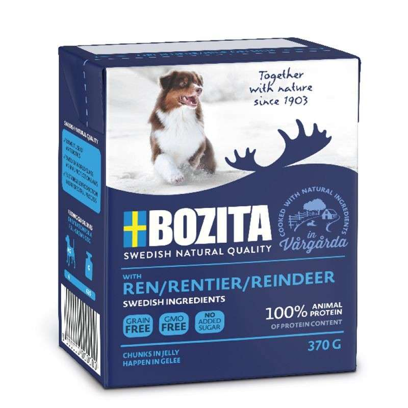 Bozita Chunks in Jelly Ren 370 g
