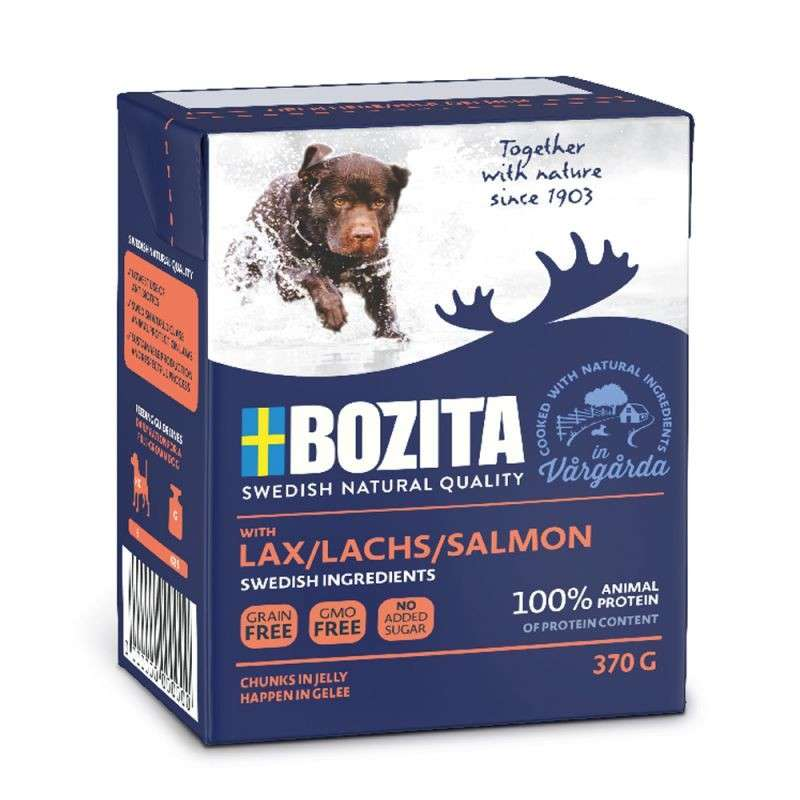 Bozita Chunks in Jelly Lax 370 g