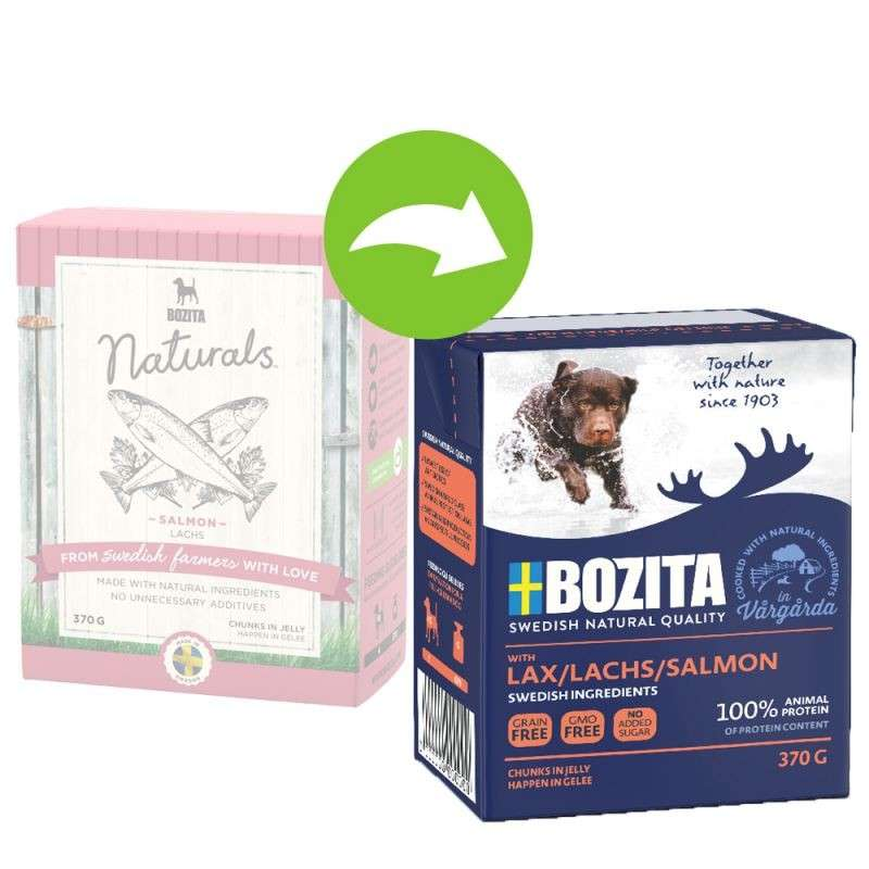 Bozita Chunks in Jelly Salmon 370 g