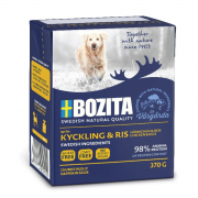 Bozita Chunks in Jelly Chicken & Rice 370 g