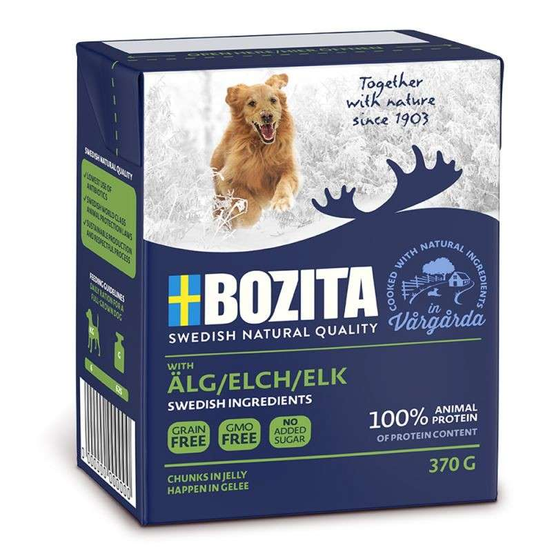 Bozita Chunks in Jelly Älg 370 g