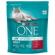 Purina ONE Bifensis Adult Beef Meat and Grain 800 g