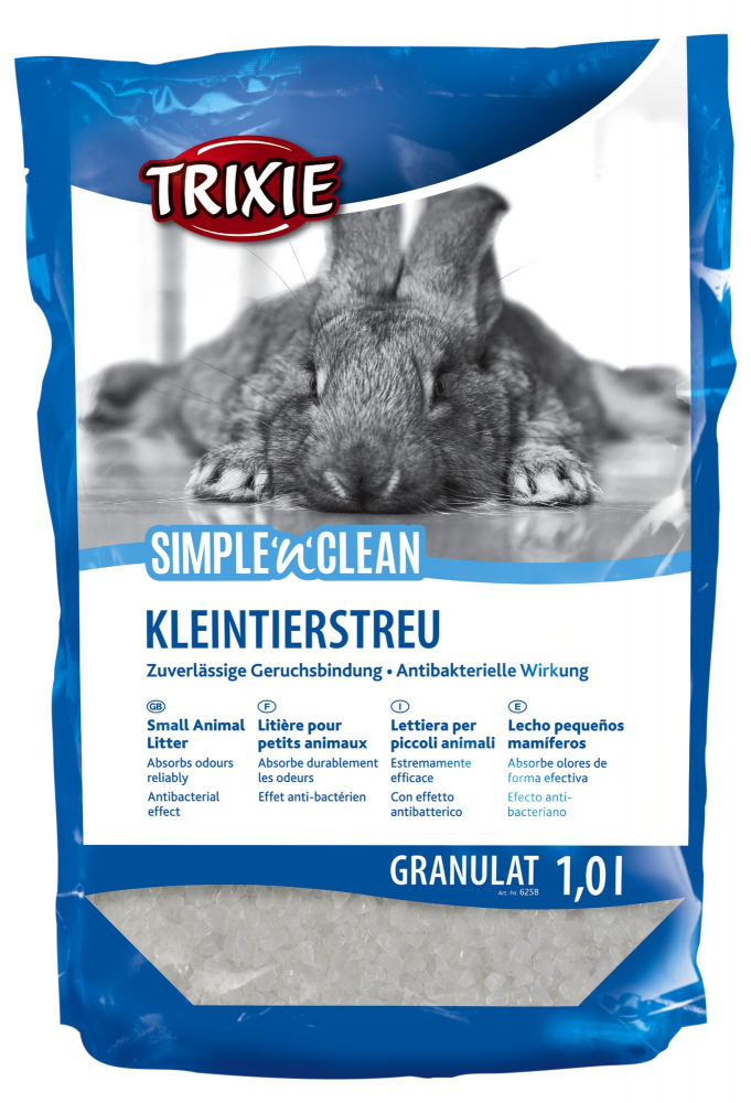 Trixie Simple'n'Clean Silicate Litter 1 l  kjøp billig med rabatt