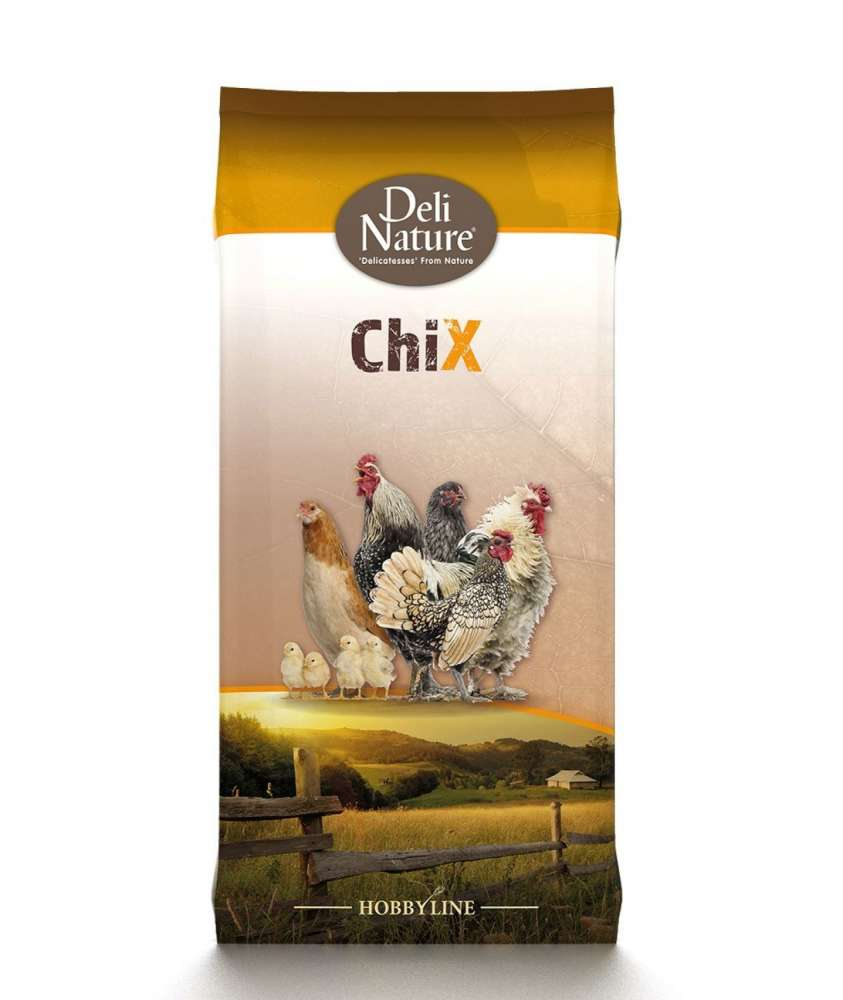 Deli Nature ChiX Start Meel 4 kg, 25 kg