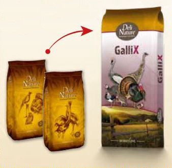 Deli Nature GalliX Ornamental Leg Pellet 25 kg