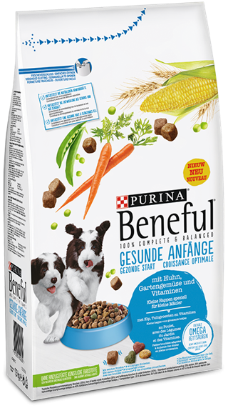 Purina Beneful Healthy Puppy With Chicken Garden Vegetables And