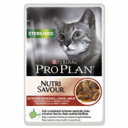 Purina Pro Plan Sterilised Wet Food with Beef 85 g